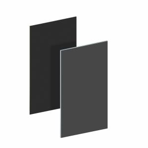 BINTO Mülltonnenbox - Erweiterungsverkleidung HPL schiefer