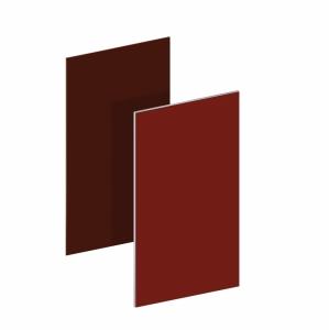BINTO Mülltonnenbox - Erweiterungsverkleidung HPL rot