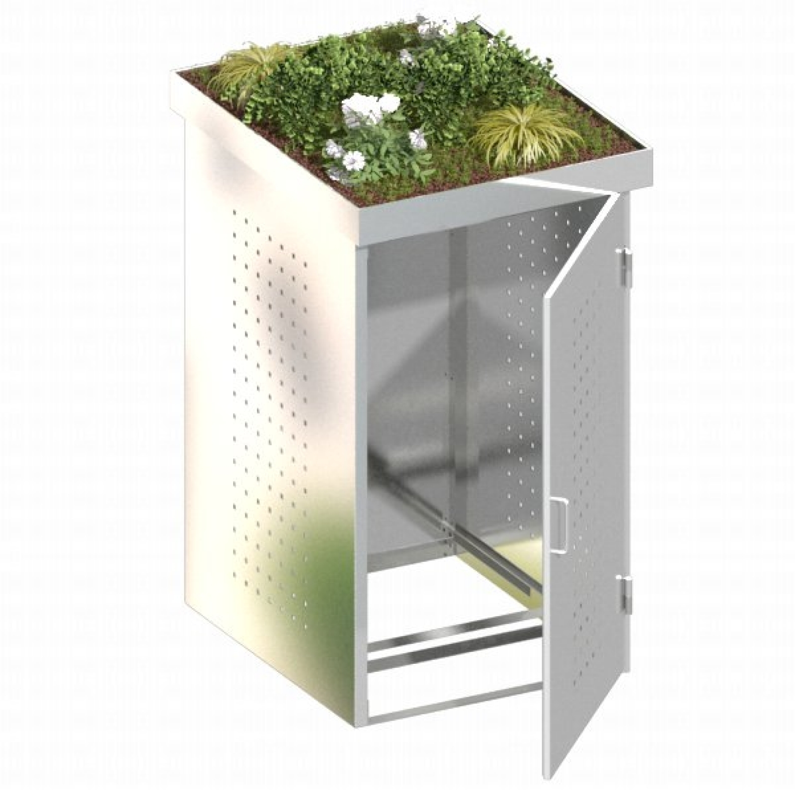 binto m lltonnenbox edelstahl system 1p. Black Bedroom Furniture Sets. Home Design Ideas