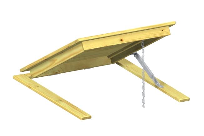binto m lltonnenbox einzelkomponente klappdeckel holz. Black Bedroom Furniture Sets. Home Design Ideas