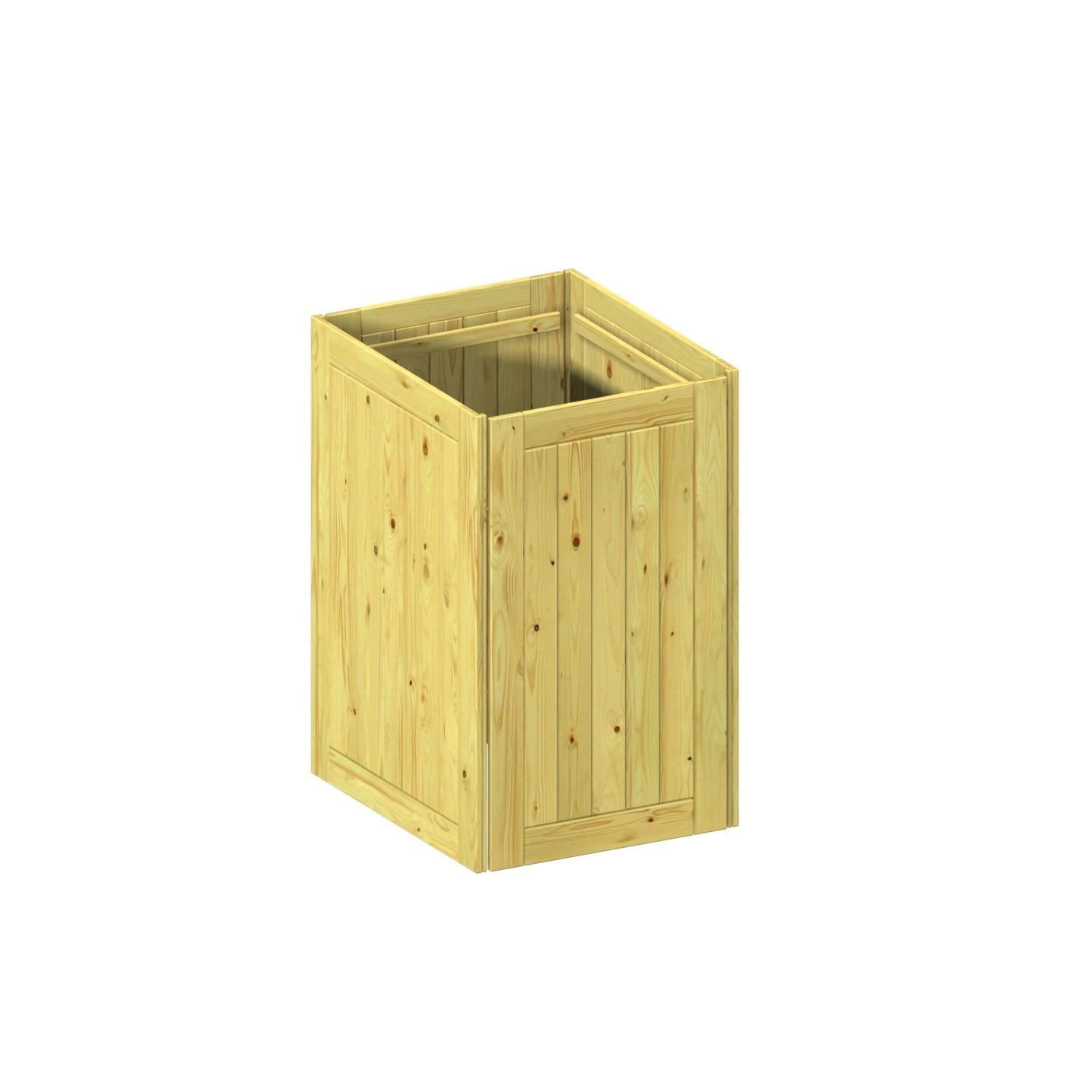 binto m lltonnenbox einzelkomponente grundverkleidung holz. Black Bedroom Furniture Sets. Home Design Ideas