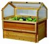 GASPO Frühbeetaufsatz 150cm für Hochbeet - honigfarben