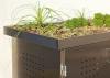 BINTO Mülltonnenbox Edelstahl System 2P