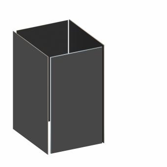 BINTO Mülltonnenbox - Grundverkleidung HPL schiefer