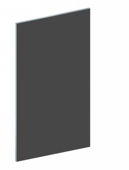 Einzelteil für Bastler - BINTO Mülltonnenbox - Tür - HPL schiefer