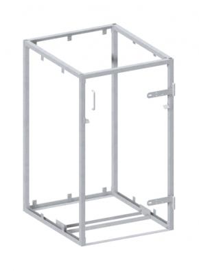 BINTO Mülltonnenbox Grundgestell Metall
