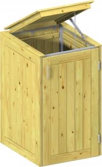 BINTO Holz Mülltonnenbox System 1K